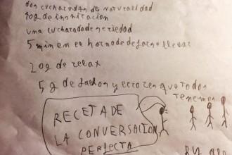 RECETA DE LA CONVERSACIÓN PERFECTA